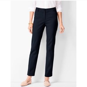 Talbots Navy Hampshire Ankle Length Dress Pants